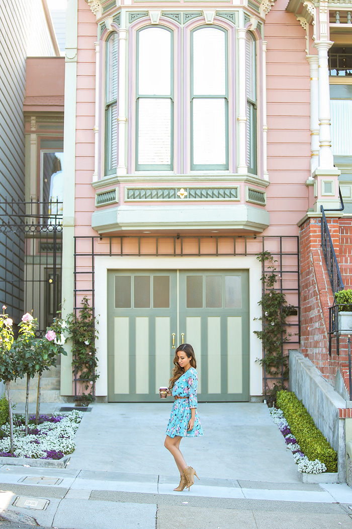 petite fashion blogger, petite fashion blog, fashionista, lace and locks, los angeles fashion blogger, san Francisco fashion blogger, urban outfitters, spring dress, urban outfitters dress, city fashion, spring fashion, affordable fashion,streetstyle